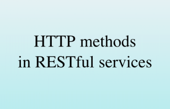 Using HTTP Methods for RESTful Services